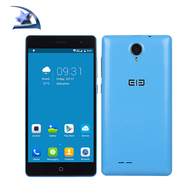 """5""""Inch HD Elephone Trunk Qualcomm Snapdragon 410 MSM8916 Quad Core 4G FDD-LTE Smart Mobile Phone Android5.1 GPS 2GB/16GB FM"""