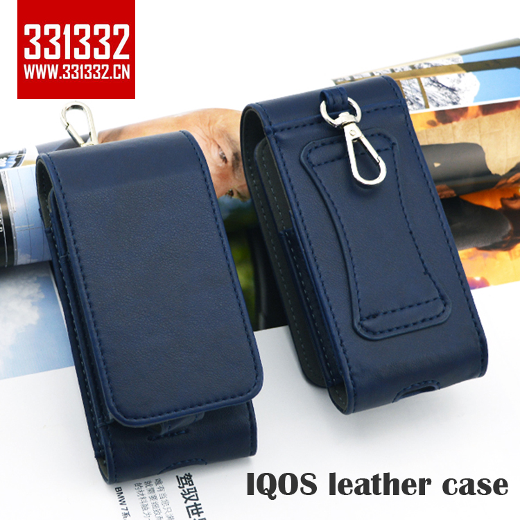 Original 331332 Full Protective Box Card Holder Pouch Bag PU IQOS Leather Case for iQOS Electronic Cigarettes hot in Japan
