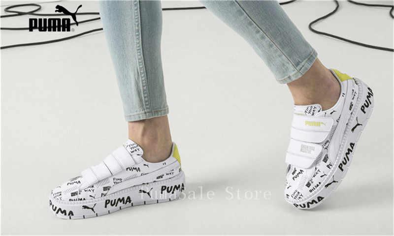 cc7b784b6682a5 ... PUMA x SHANTELL MARTIN Platform Trace Strap Women Sneaker 366533-01 02  smClyde Runs