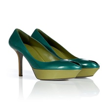 2016 neue Lackleder Schuhe Für Frauen Peep Toe Plattform Spool High Heels Sommer Party Damen Slip-on schuhe Pumpen
