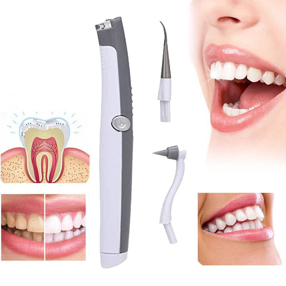 Electric Ultrasonic Tooth Stain Eraser Plaque Remover Dental Tool Teeth Whitening Dental Cleaning Scaler Tooth Odontologia Tool