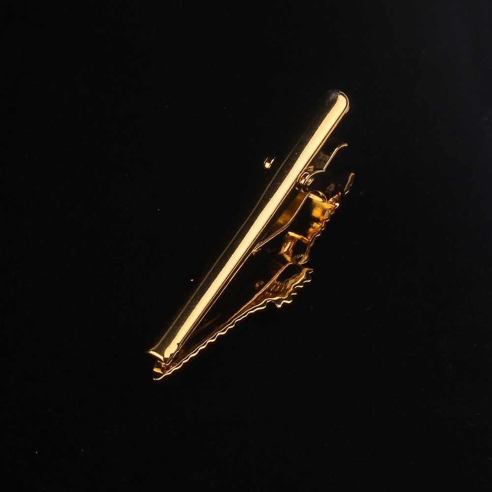 التعادل كليب للرجال الكلاسيكية متر دبوس رابطة العنق النحاس مشبك رابطة عنق جودة المينا التعادل طوق دبوس كريستال الأعمال Corbata