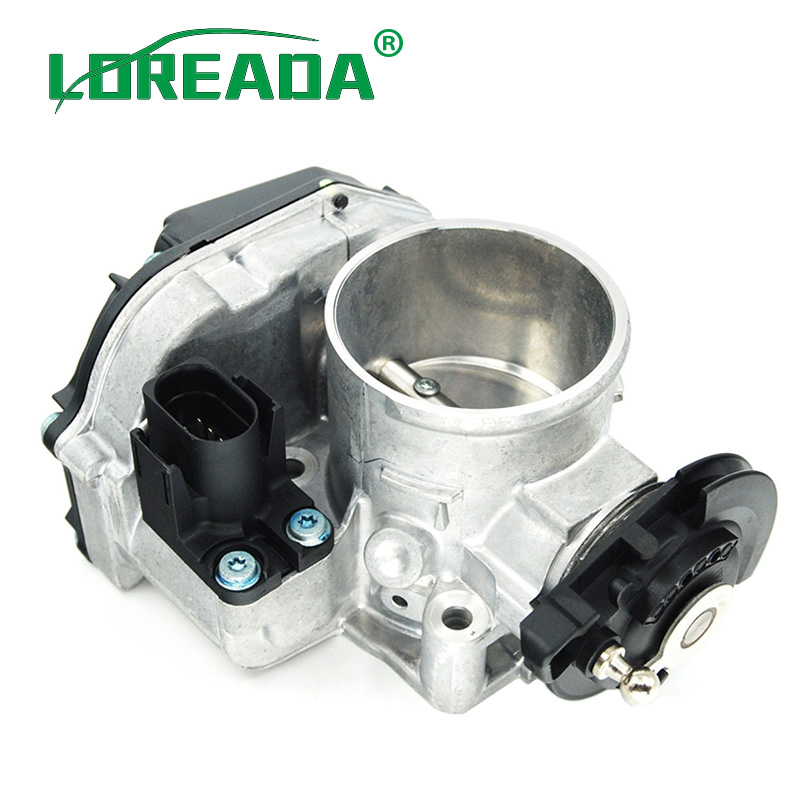 56mm New Fuel Injection Throttle Body Assembly 058133063Q 058133063M 408237212008Z For Passat 1.8t For Audi A4 A6 Quattro