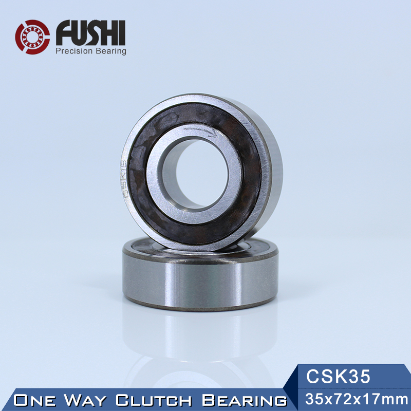 CSK35 One Way Bearing Clutches 35*72*17mm ( 1 PC) Without Keyway CKK35 CSK6207 FreeWheel Clutch Bearings CSK207CSK35 One Way Bearing Clutches 35*72*17mm ( 1 PC) Without Keyway CKK35 CSK6207 FreeWheel Clutch Bearings CSK207