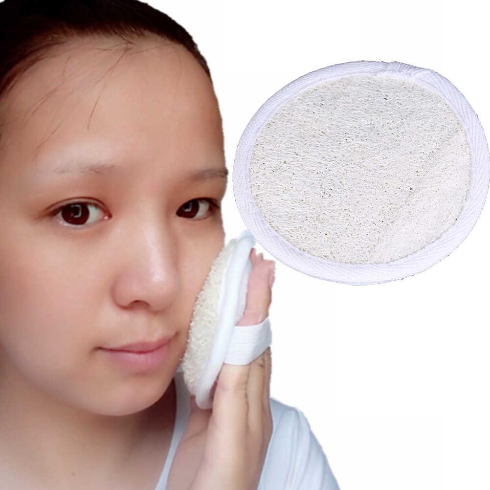 1 sztuk Loofah Luffa twarzy cerę skóry dysk twardy PadsMale/kobiecej twarzy i szczotki wysokiej jakości