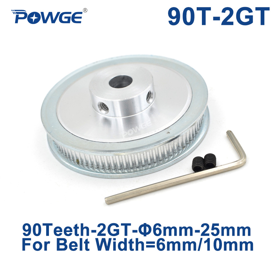 GT2 Pulley 14 Width 6mm Bore 5 12.7 20mm 6 6.35 10 12 8 80 Teeth