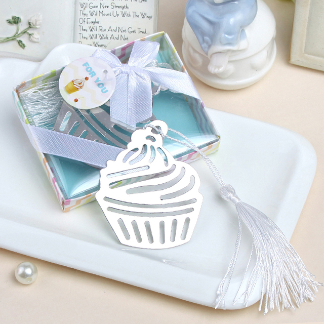 Free Shipping Cupcake Bookmark Wedding Favors And Gifts Wedding
