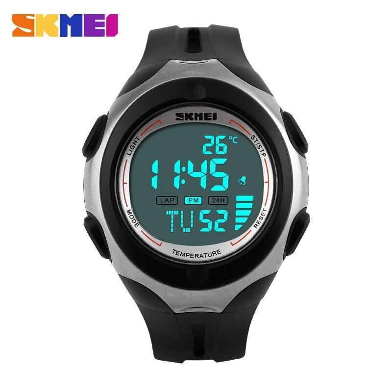 Temperature Military Watch Men Casual Digital Fashion Waterproof Sports Watches Skmei Brand WristWatch Relogio Masculino 2016