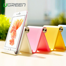 Ugreen Universal White Mobile Phone Stand Flexible Desk Phone Holder For iPad iPhone Sony Nokia HTC Cellphone And Tablet Stand