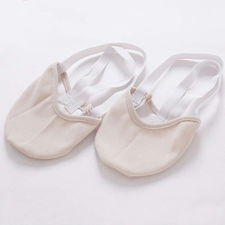 Gymnastics-Slippers Dance-Shoes Sole-Ballet Faux-Leather Half Pointe by Rhythmic DHL