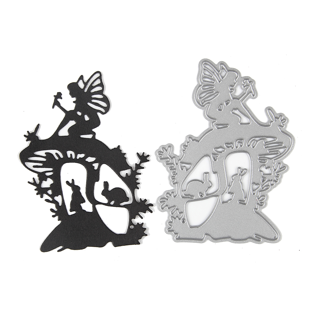 Embossing Steel magical Fairy Cutting Dies Stencils DIY Scrapbooking ...