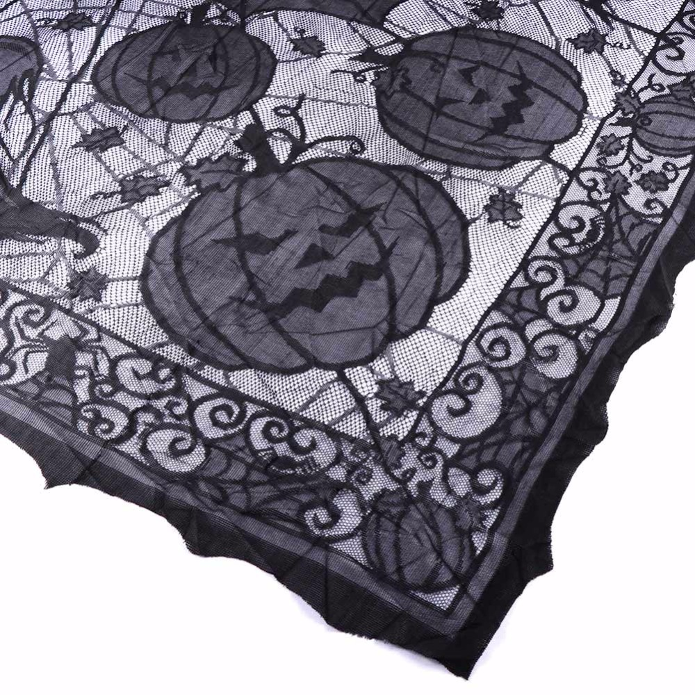 Amazing 1pc Halloween Spider Web Tablecloth Lace Black Table Cover For Party  Halloween Decoration In Party DIY Decorations From Home U0026 Garden On  Aliexpress.com ...