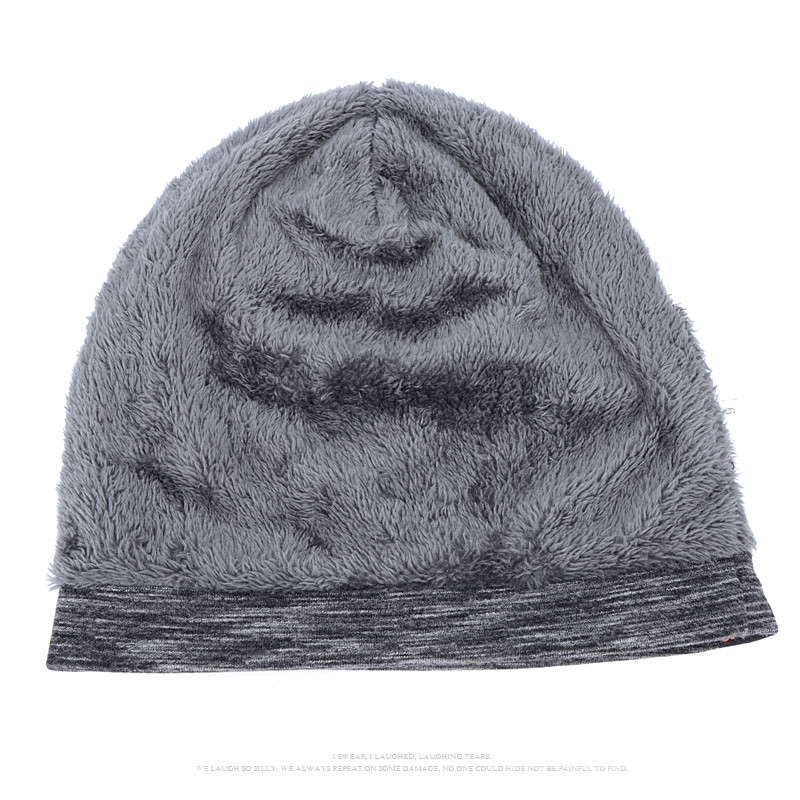 New Women And Men ROCK Cloth Mark Hat Plus Cashmere Winter Hat For Women  Fashion Warm Beanie 3 Colors Sports Winter Caps-in Skullies   Beanies from  Apparel ... 0a4566c3cece