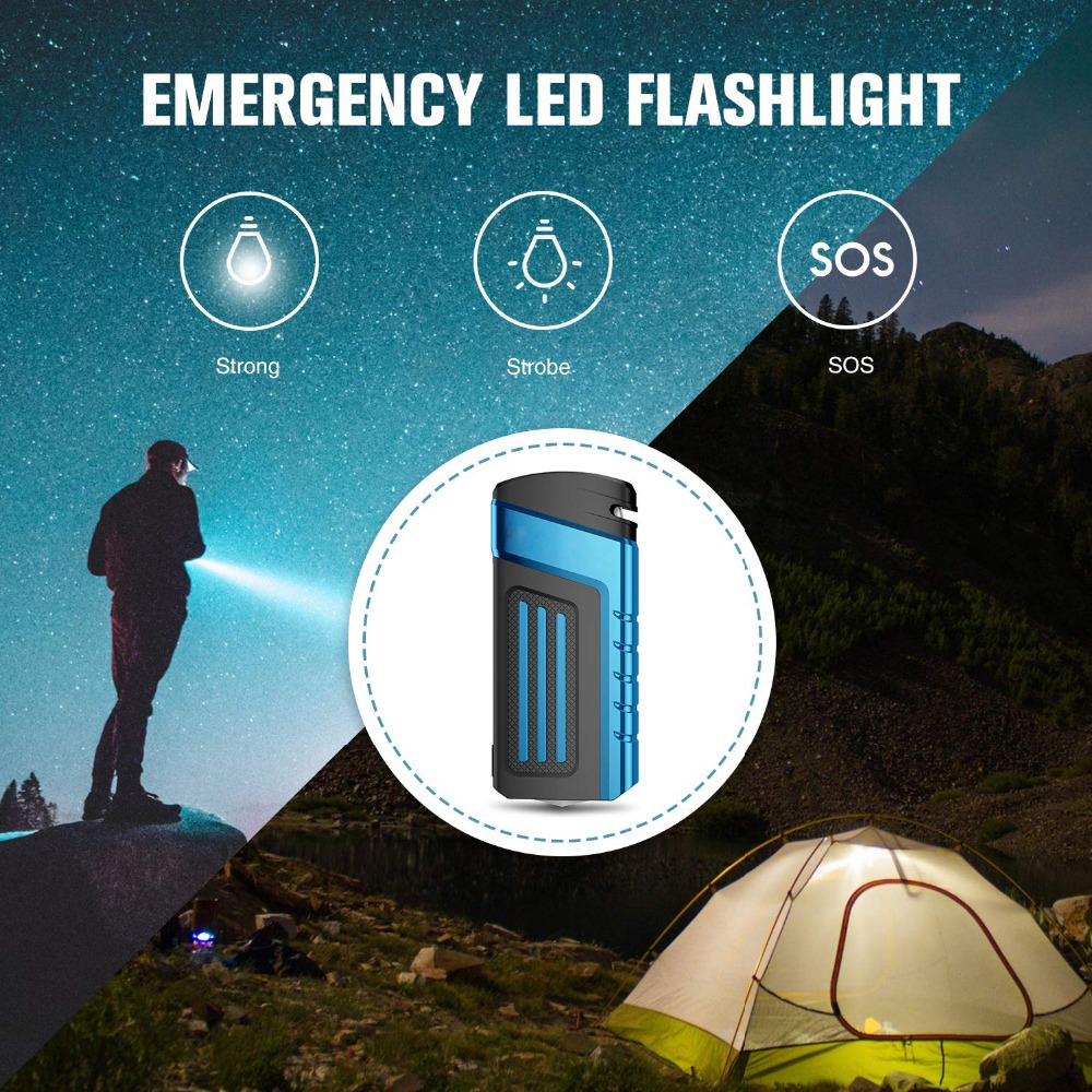 Emergency 20000mAh 12V Car Jump Starter 800A Portable Starting Device Power Bank Car Charger For Car