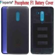 Original New 6.18 Xiaomi Poco F1 Battery Cover Mi Poco F1 Housing MI Pocophone F1 Back Battery Cover Case+Power Side Buttons F1 нож fallkniven f1
