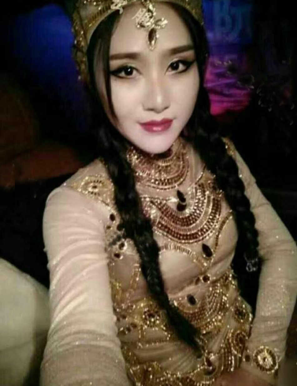 2017 Sexy singer walking show dj trailing Egyptian clothes Indian style  Baotou modern performance dresss woman stage dancewear