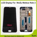1 шт. черный Meiblue Примечание 2 ЖК-Дисплей С Сенсорным Дигитайзер Подлинной Стекла панель Экрана 1920x1080 FHD 5.5 ''В Наличии Для Meizu M2 Note