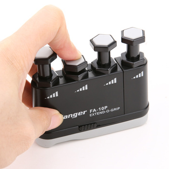 Guitar Finger Trainer Strengthener Training Device Piano Hand Grip Practice Musical Instrument Guitar Accessories Black 1