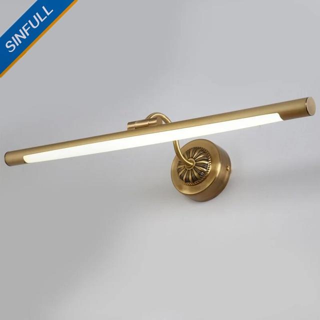 Amerikanischen LED Spiegelleuchte Bad produkte Wandleuchte Kupfer ...