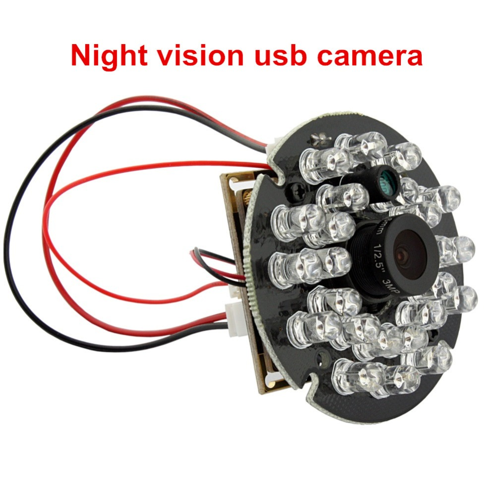 2mp 1080Pfull hd Android,linux, auto white balance, auto exposure usb UVC webcam with ir led for PC computer