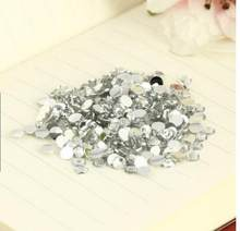 50000pcs/pack Min.$15 (Mixed Order) Flat Bottom back Resin Rhinestones nail jewelry accessories Cell Phone Case DIY Decoration 2(China)
