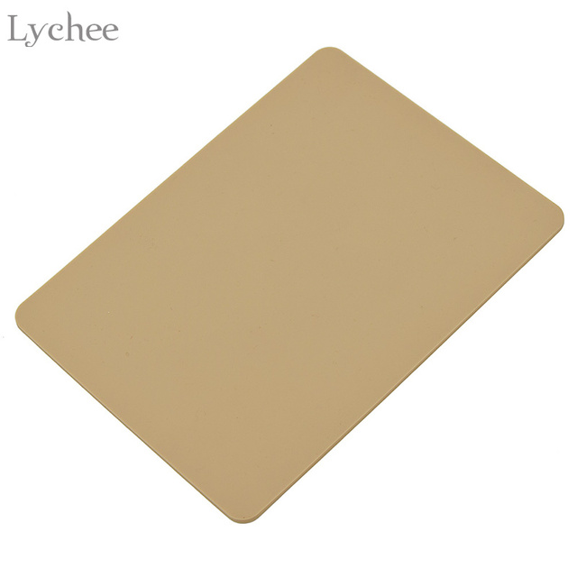 Lychee Replacement Silicone Rubber Mat Scrapbooking Embossing Card Making Mat Die Cutting Accessories
