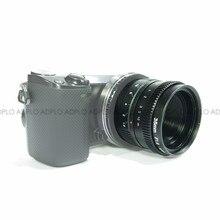 Terno Para 16 milímetros C Montar Câmera 35mm F1.6 Preto/APS-C Televisão TV Lente/Lente C CTV