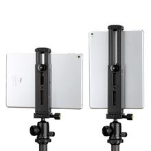 Ulanzi U-Pad Pro Tablet Metal Tripod Mount iPad Clip with Quick Release Plate Cold Shoes for Microphone Led Lights