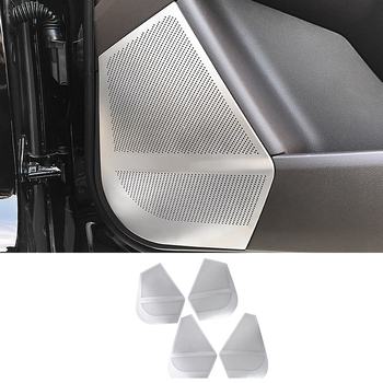 4x Door Speaker Panel Cover Trims For Mercedes-Benz ML GLE Class W166 C292 2012-2017