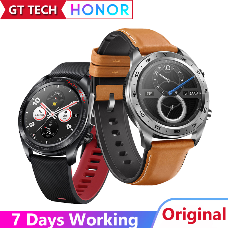 Huawei Honor Watch Magic SmartWatch NFC GPS 5ATM WaterProof Heart Rate Tracker Sleep Tracker Working 7