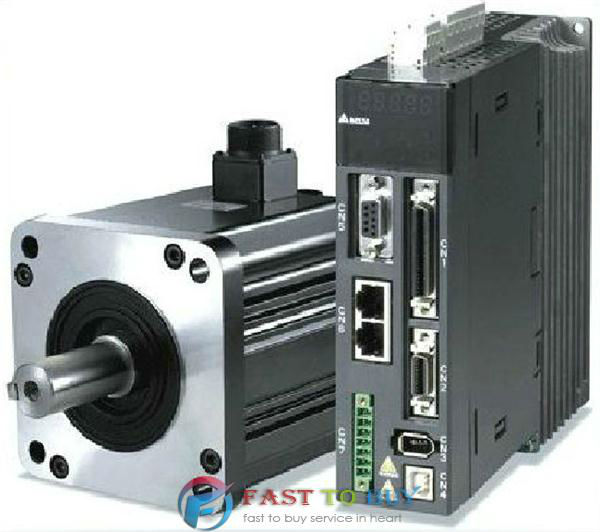 Delta 400W AC Servo Drive and Motor ASD-A2-0421-L + ECMA-G11303RS with Oil Seal New стоимость