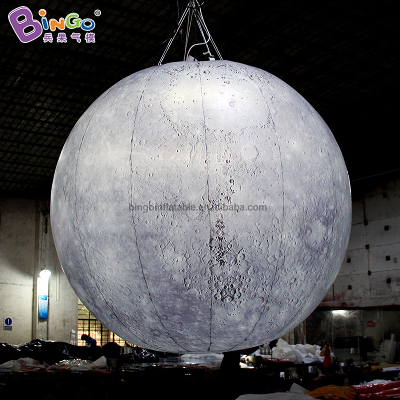 NEWLY DESIGN 1.5 diameters inflatable Mercury toy air filled globe model decoration suspended customization advertising item