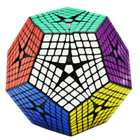 New Shengshou Petaminx 8x8 Cube Black 8Layer Kilominx Megaminx Sengso Cubo Magico Puzzle Cubes Educational Toys For Children