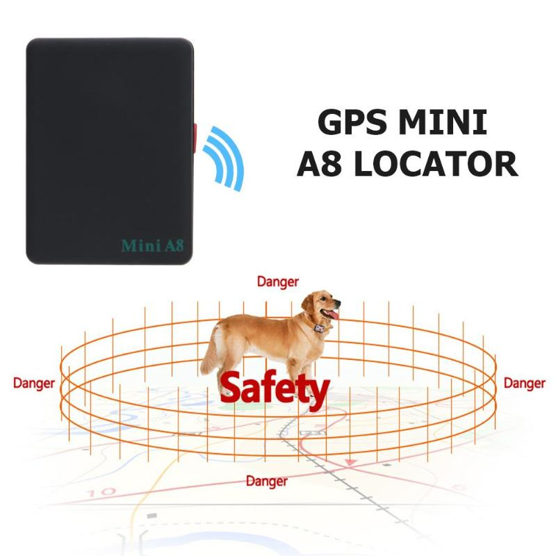 Mini A8 Portable GSM/GPRS Tracker 3.7V 500 MA lithium-Ion Battery Global Real Time Tracking Device for Car Kids Elder Pet