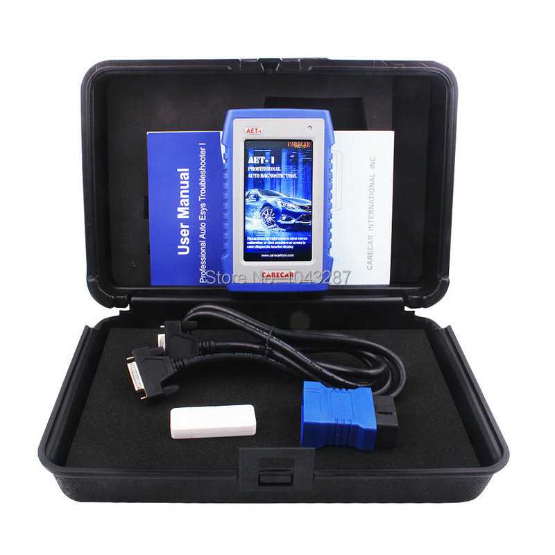 imágenes para Mercedes BENZ Escáner herramienta de Diagnóstico Profesional OBD2 Lector de Códigos de ABS Carecar AET-I