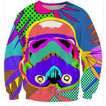 Star War Print Sweatshirt