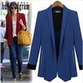 Spring and autumn new suit Europe and the United States fashion trend coat-dod367