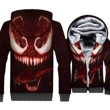 2019 wool liner Superhero jackets coats Spiderman Venom brand tracksuits men fashion hooded hoodies 3D printed sweatshirts homme blue v neck women wedding party dress above knee mini dress satin bridesmaid dress back of bandage
