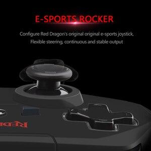 Image 4 - Redragon HARROW G808 무선 게임 패드, 10 버튼 PC 게임 컨트롤러, Harrow, Windows PC,PS3, Playstation,Android,Xbox 360 용
