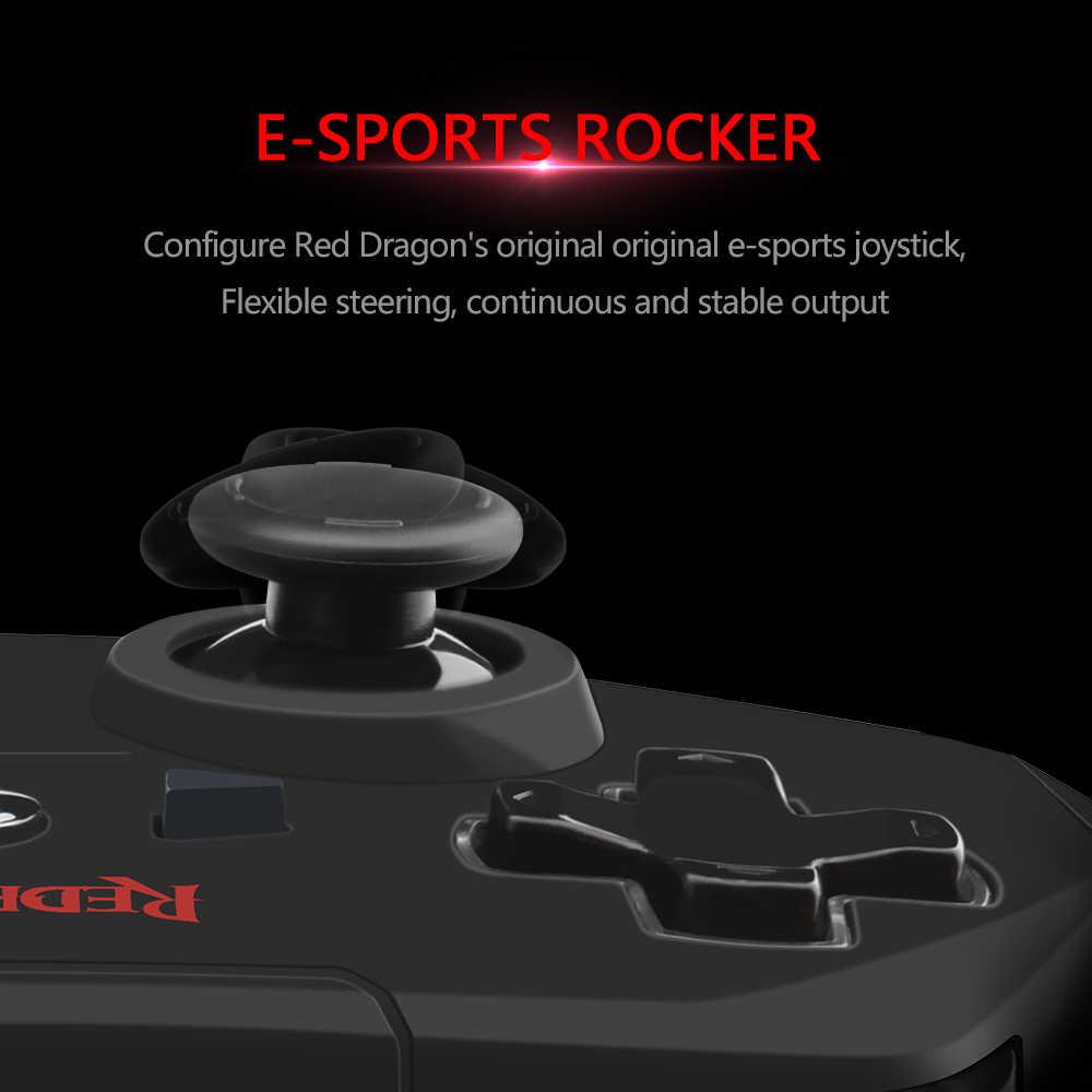 Redragon Harrow G808 Nirkabel 10 Tombol Gamepad untuk Nintendo Switch PlayStation PC PS2 PS3 Controller Joystick Android Pemicu