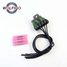 Wolfigo Hvac Er Motor Resistor Connector Pigtail Harness Fit For Chevrolet Colorado Gmc Canyon 1p1560 Pt5909 Pt1231
