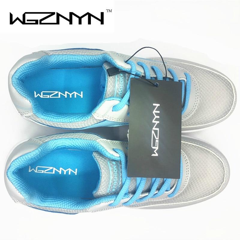 WGZNYN 2018 Neue Sommer Zapato Frau Atmungsaktives Mesh Zapatillas - Damenschuhe - Foto 6