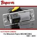 Para mitsubishi pajero mk2 mk3 mk4 1991 ~ 2015 Câmera de Visão Traseira Do Carro/Invertendo Parque Camera/HD CCD de Visão Noturna sem fio de arame