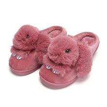 Home slippers women shoes plush rabbit cotton indoor slipper