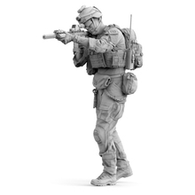 1/35 resin figure the US Army Modern military soldier unpainted and unassembled