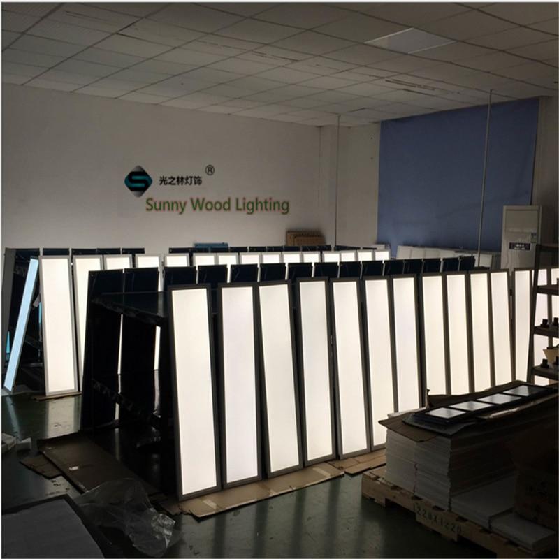 Led Lights Integrated Ceiling Panel Lights Ceiling Lights: 4pcs/lot 30*120cm 12*48 Inch Slim Led Panel Light ,40W Led