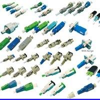 Гибридный волоконно-оптический соединитель Адаптер волоконно-оптический соединитель соединительный кабель FC, sc, st lc apc UPC оптоволоконный со...