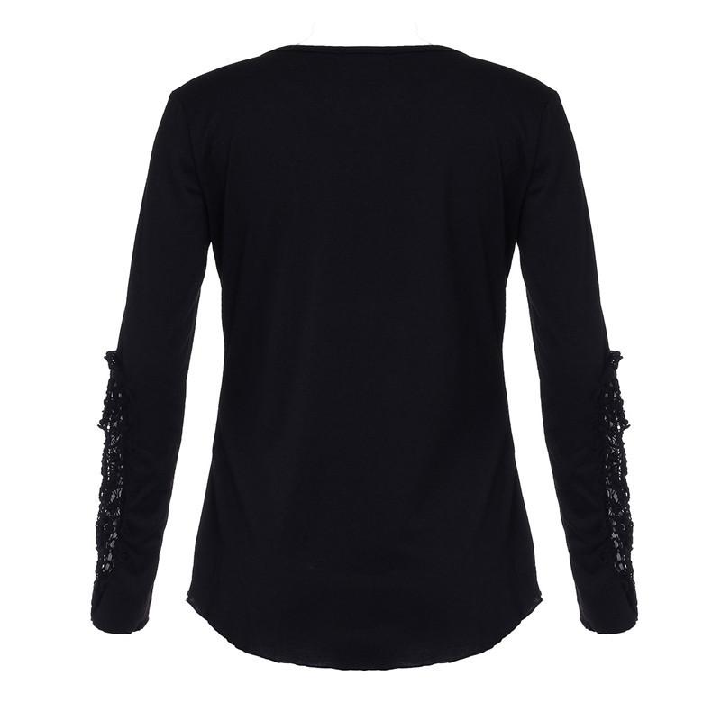 HTB1VuQ9LXXXXXaqXVXXq6xXFXXXX - Autumn Womens Style Lace Long Sleeve Hollow Solid