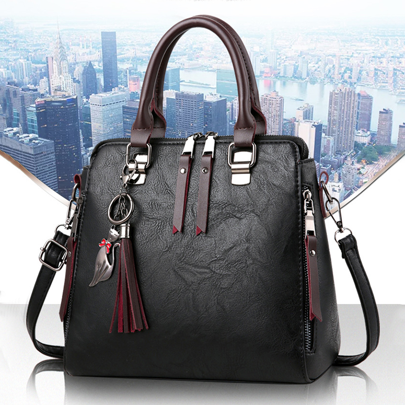 FGGS Womens Fashion Handbag Beautiful Lady Crossbody Bag Elegant Pu Leather One Shoulder Handbags Shopping Bag blackFGGS Womens Fashion Handbag Beautiful Lady Crossbody Bag Elegant Pu Leather One Shoulder Handbags Shopping Bag black