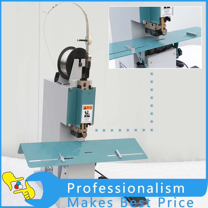 Electric Flat & Saddle Stapler Paper Book Stapler Bookbinding Machine M2000 все цены